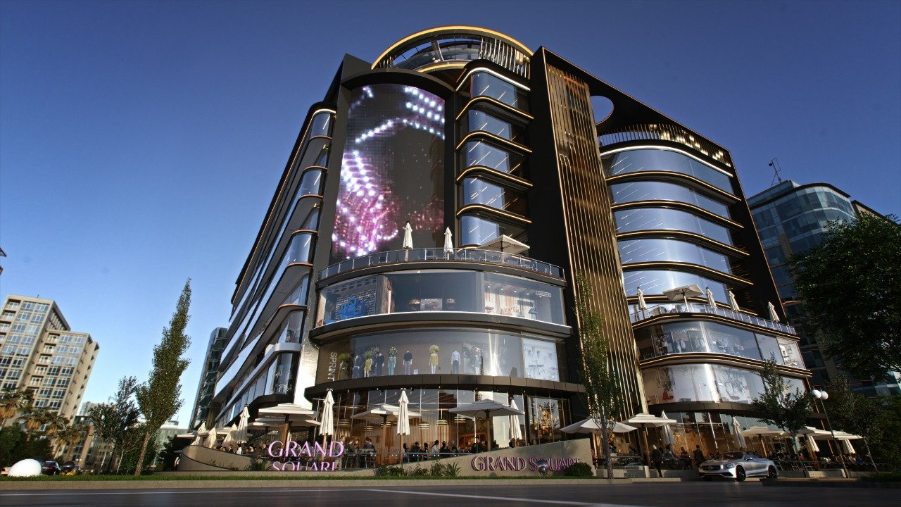 GRAND SQUARE Mall - 16547 ✆ La Plage One - New Capital Projects